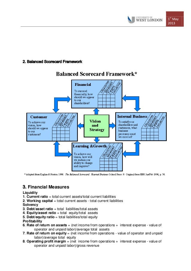 hilton balanced scorecard Abstract the balanced scorecard (bsc), developed by kaplan and norton ( 1992), allows an organization to  biasing (hilton 1999, simons 2000) it is also .