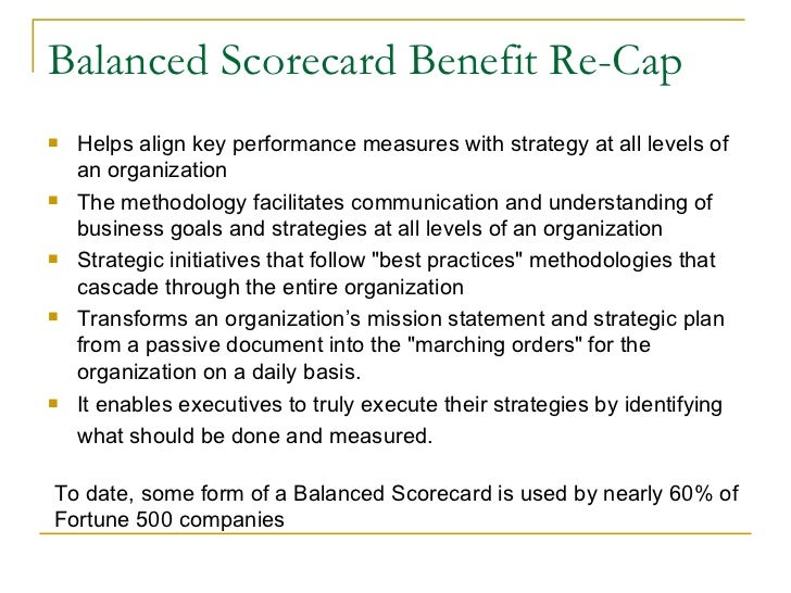 bsc advantages Cost scorecard advantages and disadvantages a balanced scorecard is a way for a business to measure its performance.