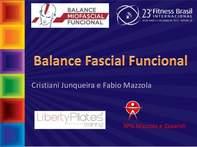 RPG Mazzola e ZaparoliCristiani Junqueira e Fabio Mazzola