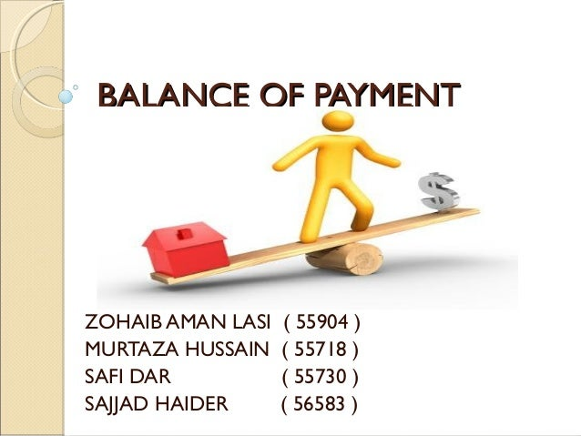 why balance of payments always balances