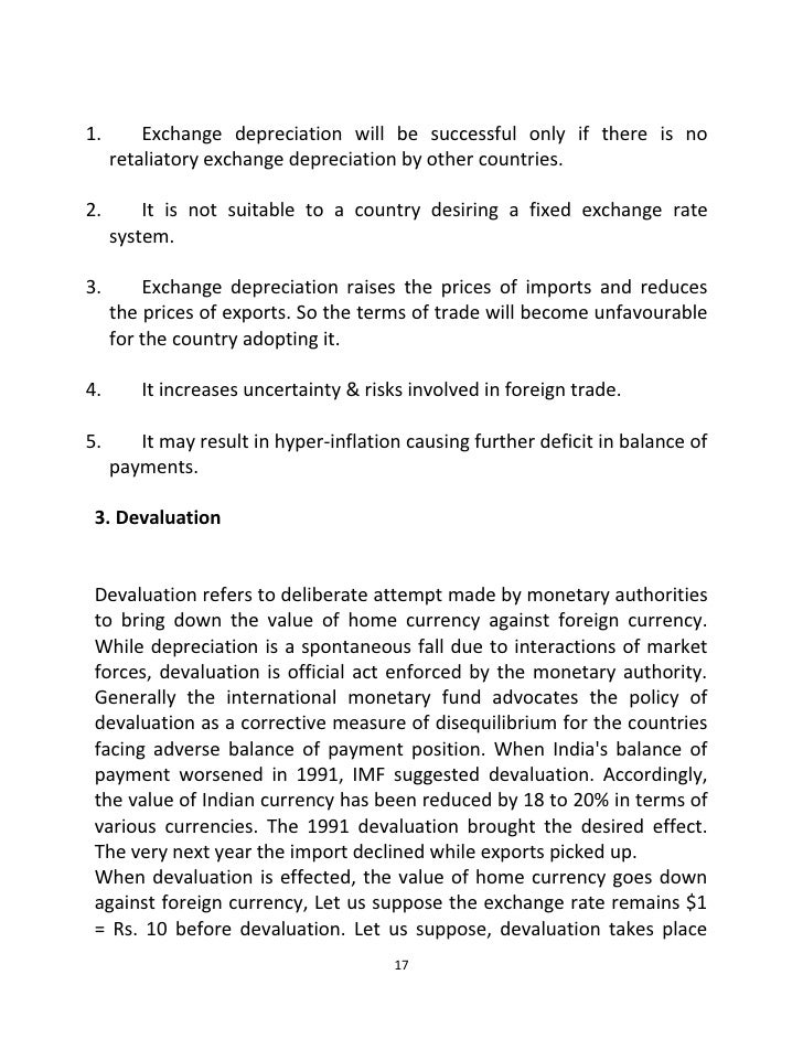 causes for disequilibrium in balance of payments pdf