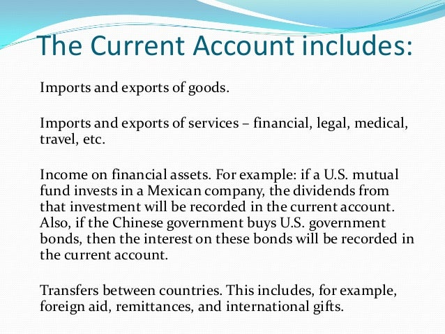 what explains the swings in the current account balance While a large current account deficit — and the external financing this requires   boom-bust swings of the recent past4  explained as an equilibrium behavior.