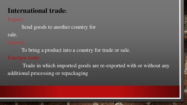 ADVANTAGES AND CHALLENGES TO EXPORTS ADVANTAGES CHALLENGES • EARNING MORE MONEY • INCREASED SALES AND PROFITS • UN WASTAGE...