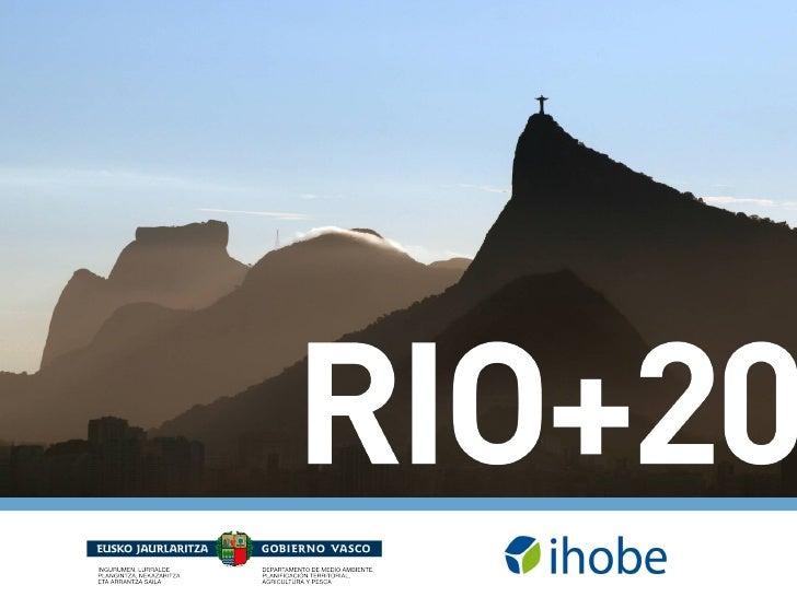 """Ihobe, Sociedad de Gestión AmbientalMISIÓN""""Apoyar al Gobierno Vasco en el desarrollo de la políticaambiental y en la exten..."""