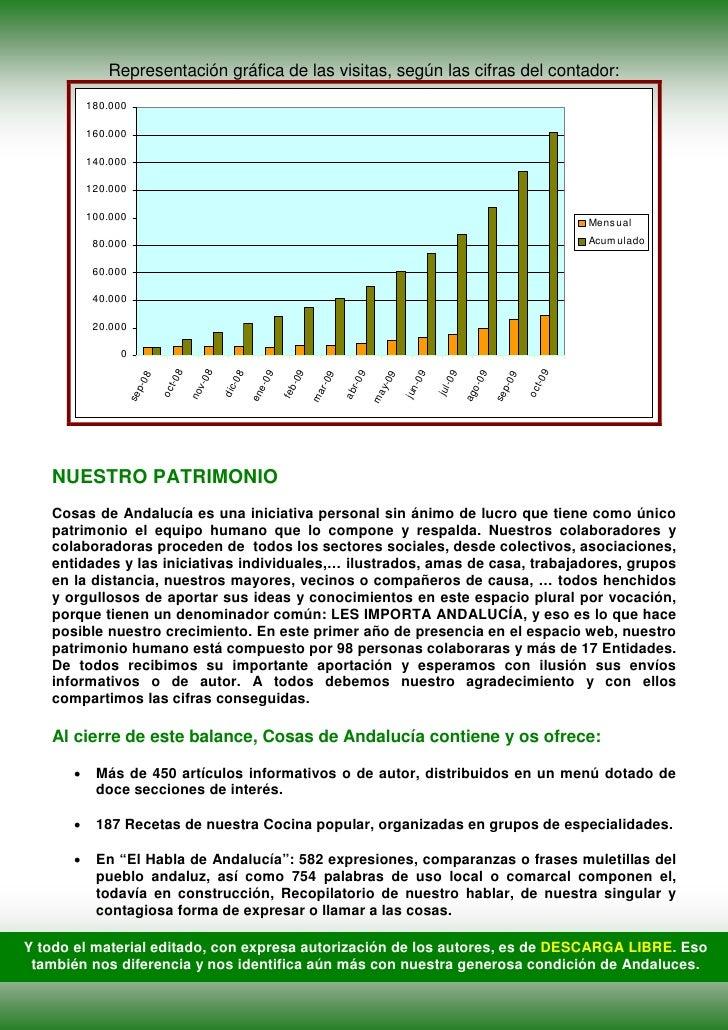 Representación gráfica de las visitas, según las cifras del contador:           180.000            160.000            140....