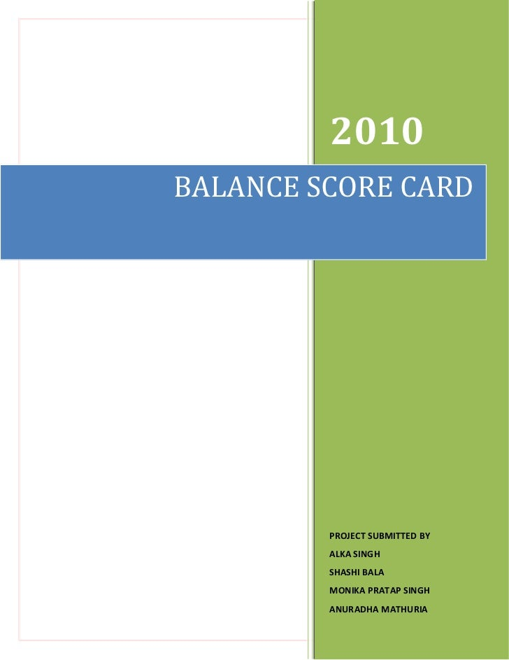 balance scored The balanced scorecard is a strategy performance management tool  the second kind of criticism is that the balanced scorecard does not provide a bottom line score or a unified view with clear recommendations: it is simply a list of metrics (eg jensen 2001.