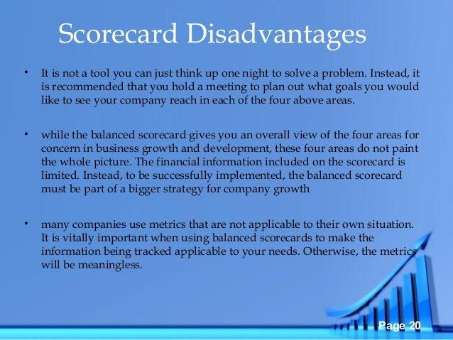 Balance score card presentation 02