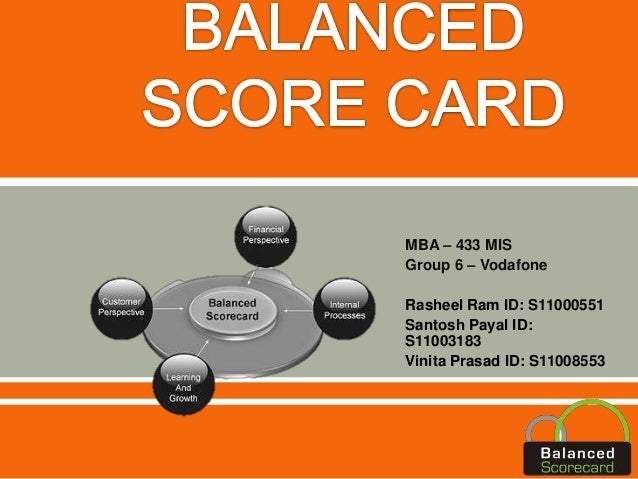 balanced scorecard on vodafone group Is delivering a clear improvement in our commercial performance 4 3  it's easy  to conceive of vodafone  our employee engagement score remains broadly.