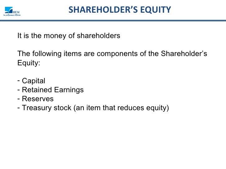 Balance sheet analysis