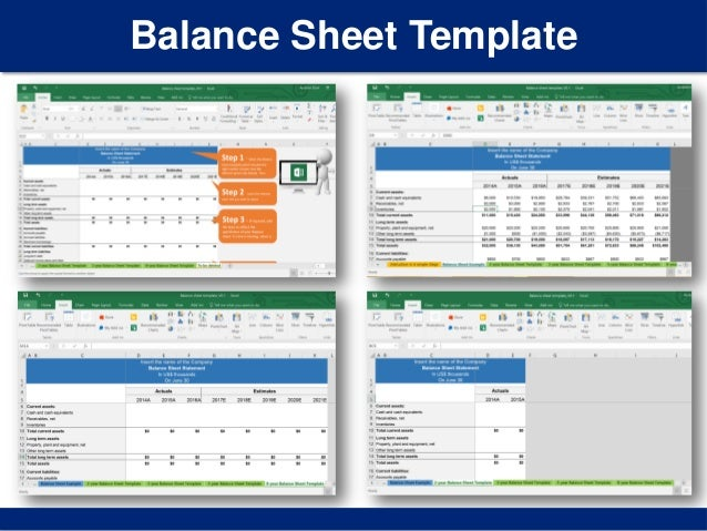 Simple Balance Sheet Template | By Ex-Deloitte Consultants