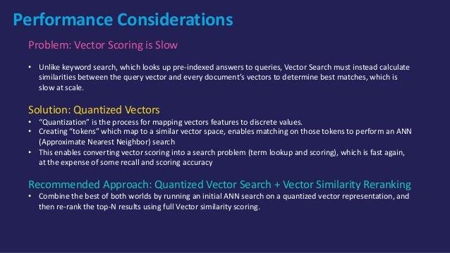 Option 5 (Work in Progress): First-class Vector Fields in Lucene/Solr