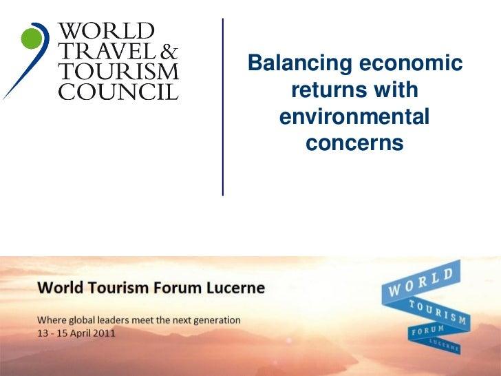 Balancing economic             Sustainability                       returns with                     environmental        ...