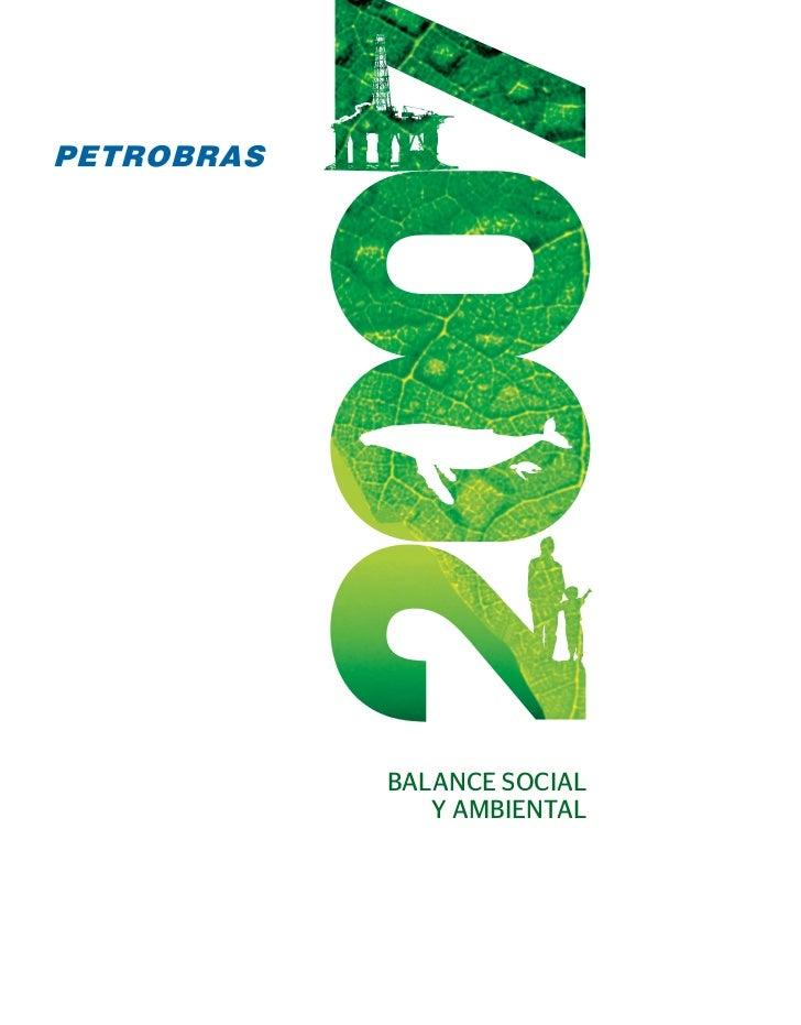 BALANCE SOCIAL    Y AMBIENTAL