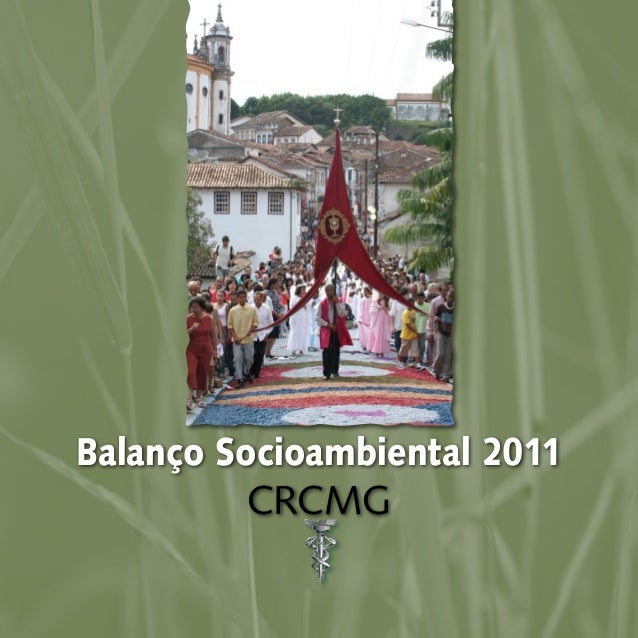 Balanço Socioambiental 2011 CRCMG