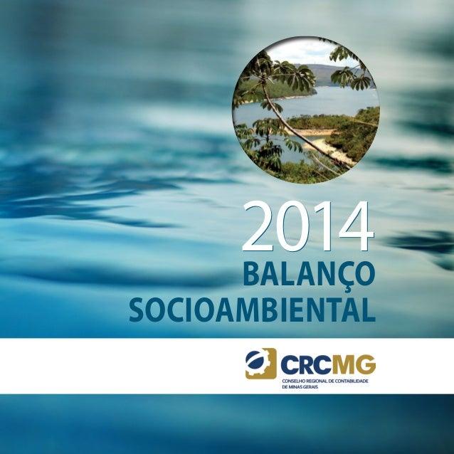 Balanço Socioambiental 20142014