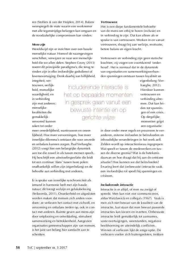 Balans door een includerende interactiecultuur! Don binnendijk & dr. Jol Stoffers Slide 2