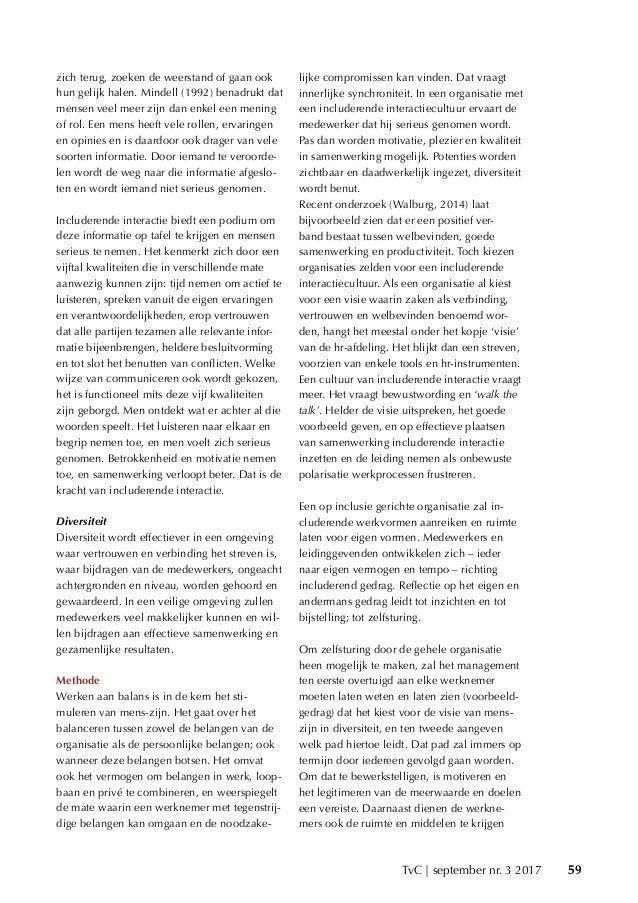 Balans door een includerende interactiecultuur! Don binnendijk & dr. Jol Stoffers Slide 3