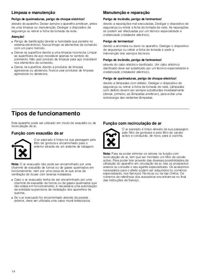 15 Utilização Estas instruções aplicam-se a vários modelos de aparelhos. É possível que sejam descritos vários pormenores ...