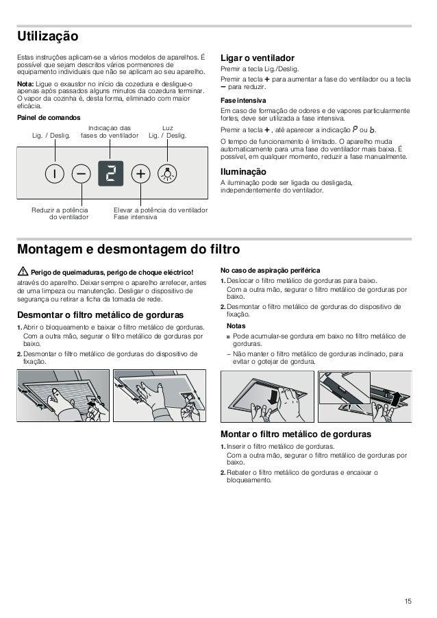16 Limpeza e manutenção : Perigo de queimaduras, perigo de choque eléctrico! através do aparelho. Deixar sempre o aparelho...