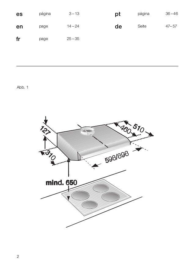 2 es página 03 – 13 en page 14 – 24 fr page 25 – 35 pt página 36 – 46 de Seite 47– 57 Abb. 1