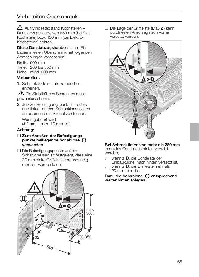 Manual Balay - campana 3 bt737x