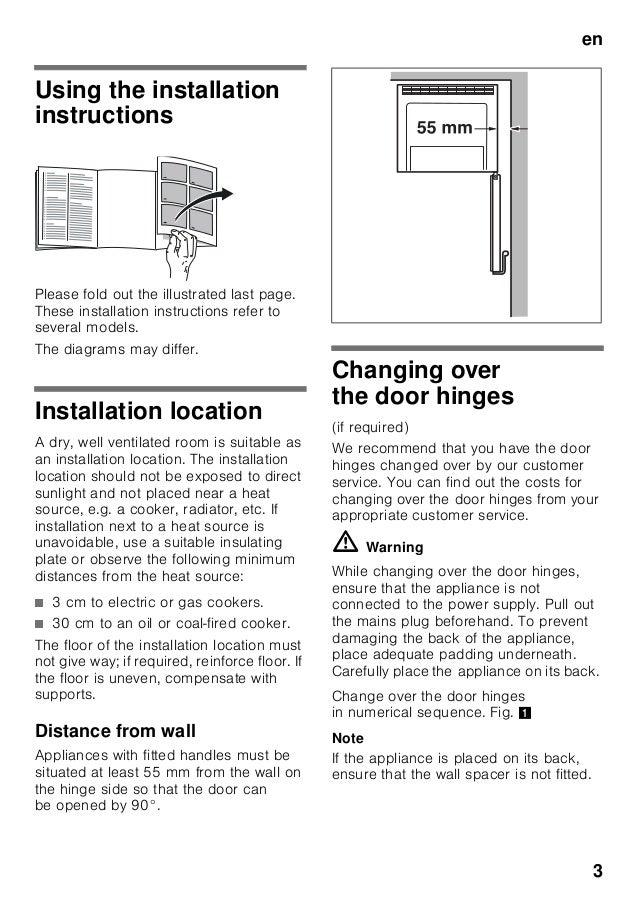 Manual Balay  - congelador combi 3 krp7667 Slide 3
