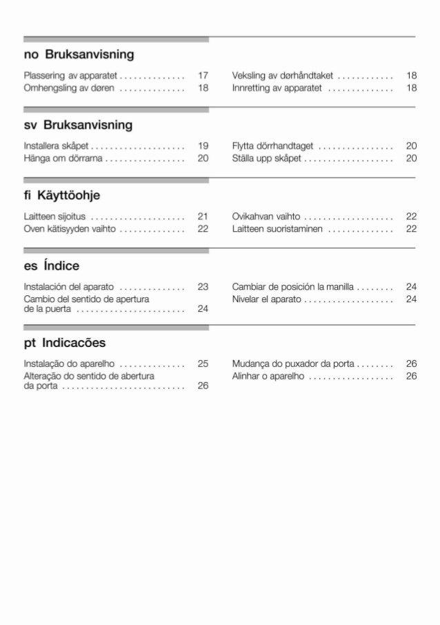 Manual Balay - congelador combi 3 krp7767 Slide 3