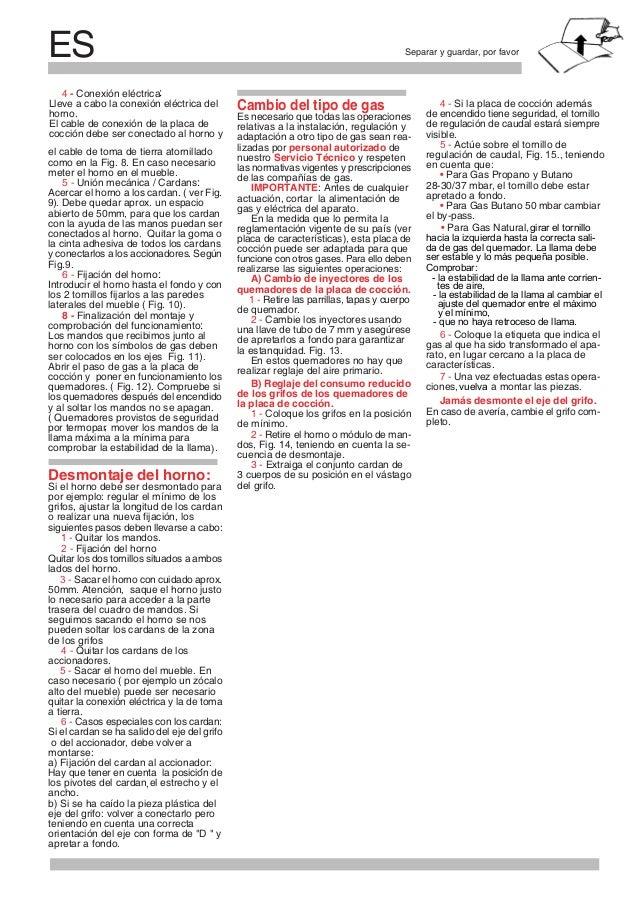 PTSeparar e guardar, por favor Instruções para a instalação É necessário que todas as operações relativas à instalação, re...