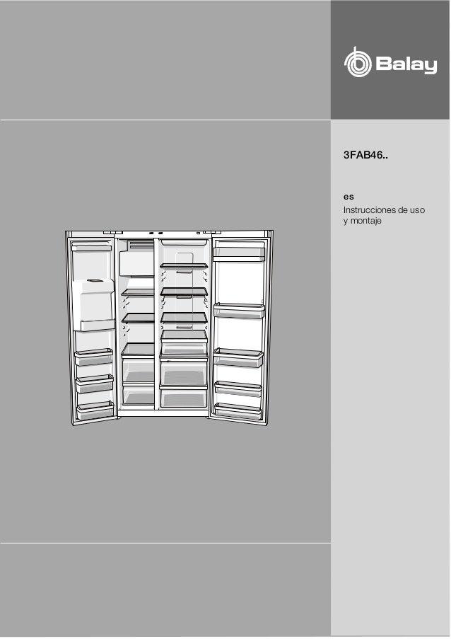 3FAB46.. es Instrucciones de uso y montaje