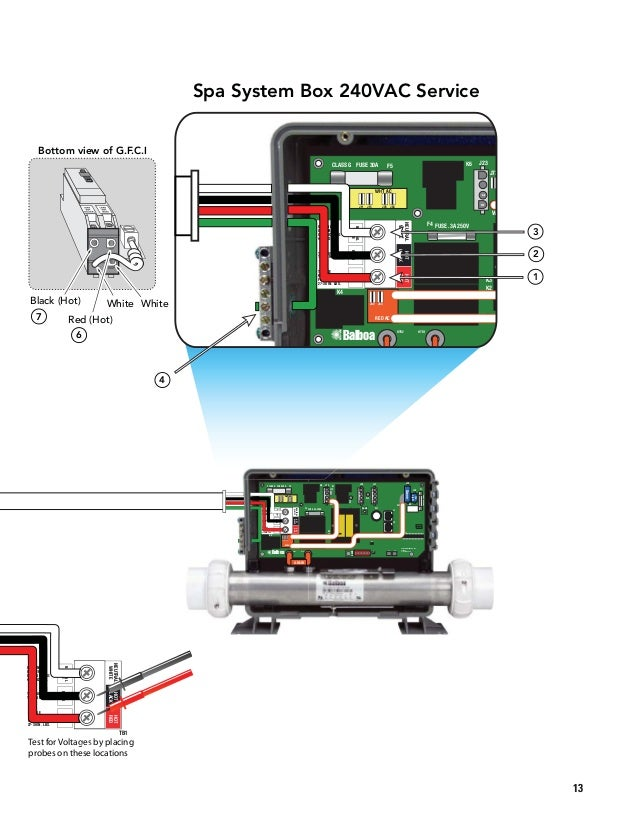 Balboa Manualtroubleshootingandservice Reva - Hot tub wiring diagram