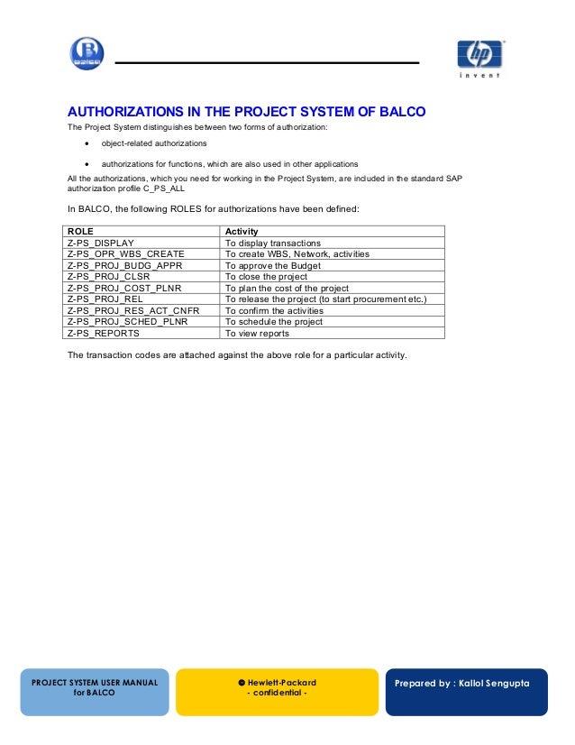 balco ps configuration manual rh slideshare net sap ps configuration guide free download sap ps configuration guide pdf free download