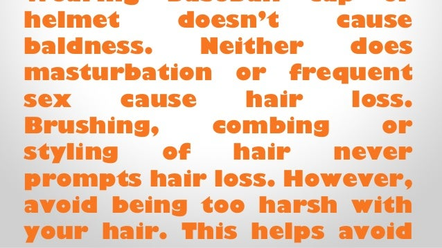 All About Hairloss and Baldness