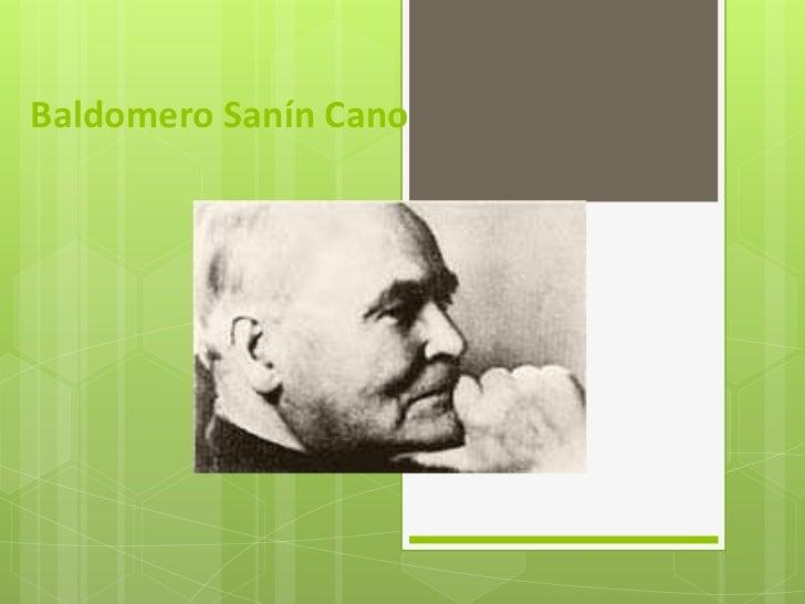 Baldomero Sanín Cano