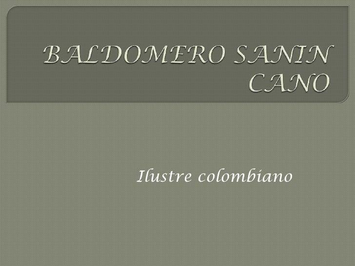 Ilustre colombiano