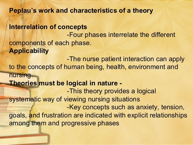 Generalizability -This theory provides simplicity in regard to the natural progression of the NP relationship. Theories ca...