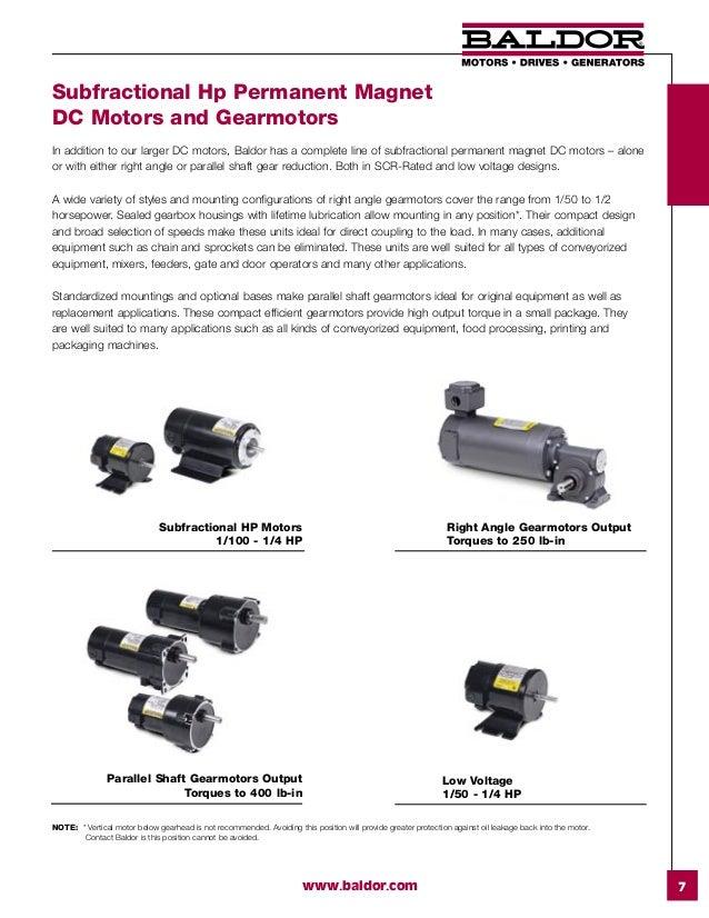 Baldor Dc Motors