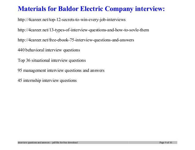 Images of Electricity Company Interview Questions - #rock-cafe