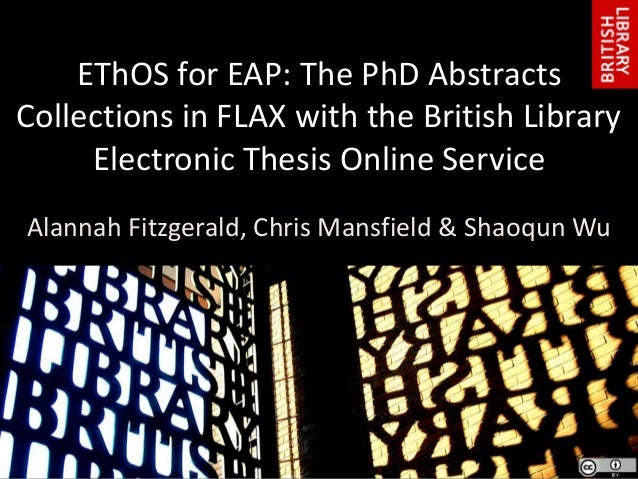 british library phd thesis online
