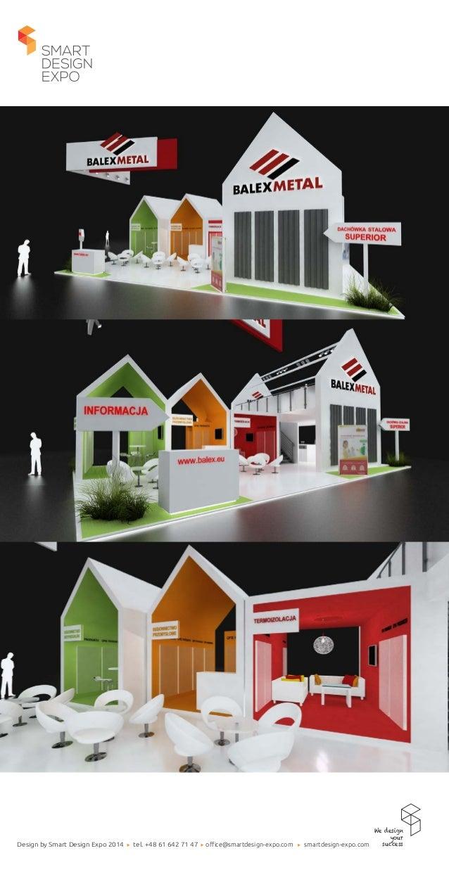 Exhibition Stand Design Presentation : Balex a project of exhibition stand designed by smart