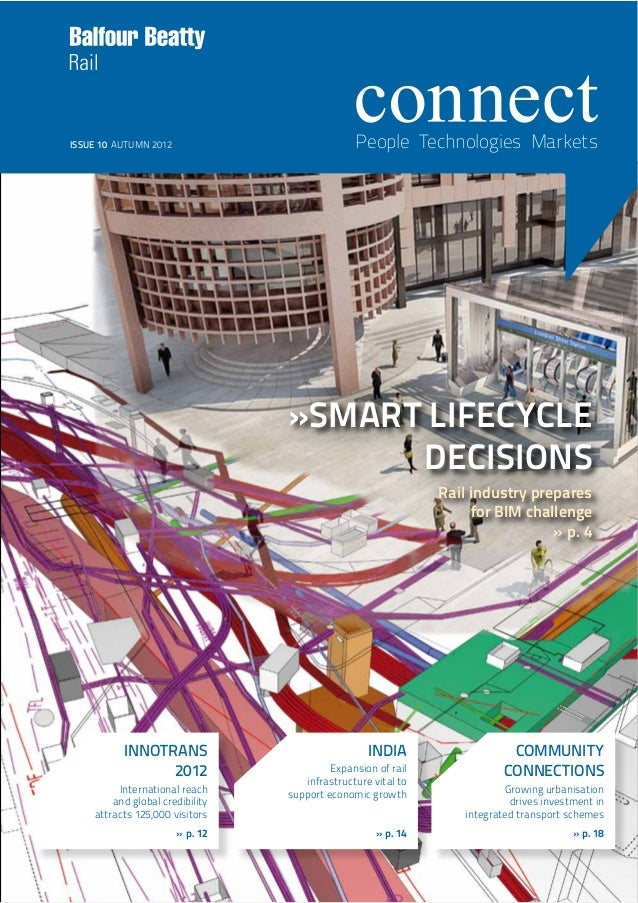 »SMART LIFECYCLEDECISIONSRail industry preparesfor BIM challenge» p. 4INDIAExpansion of railinfrastructure vital tosupport...