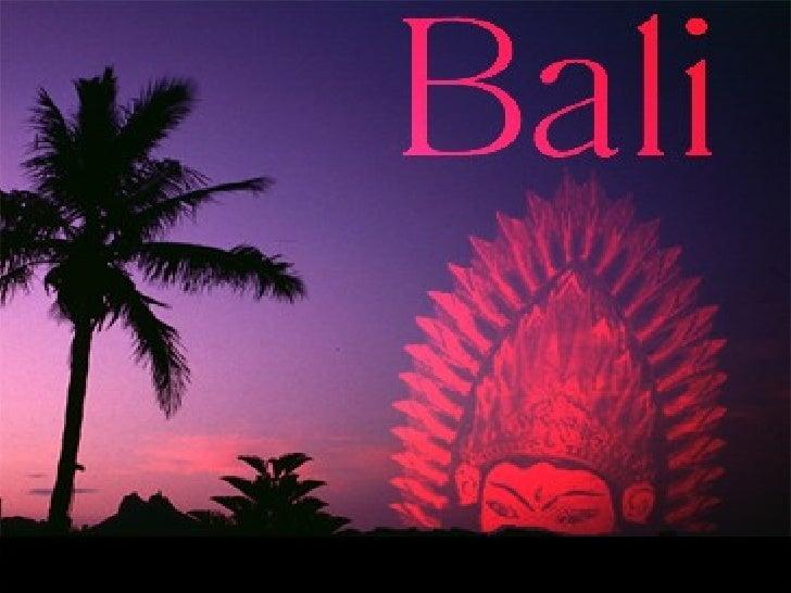 Bali Slide 1