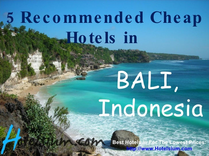 Bali 5 recommended cheap hotels in bali for Best affordable hotels in bali