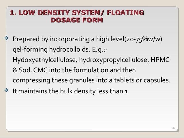 Design and evaluation of effervescent floating tablets ...