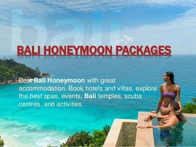 Bali Honeymoon Packages From Theholidayadviser Com