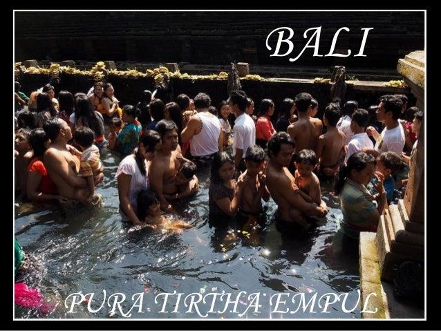 BALI PURA TIRTHA EMPUL