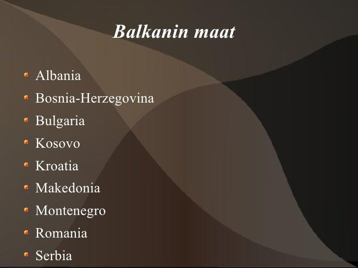 Balkanin Niemimaa