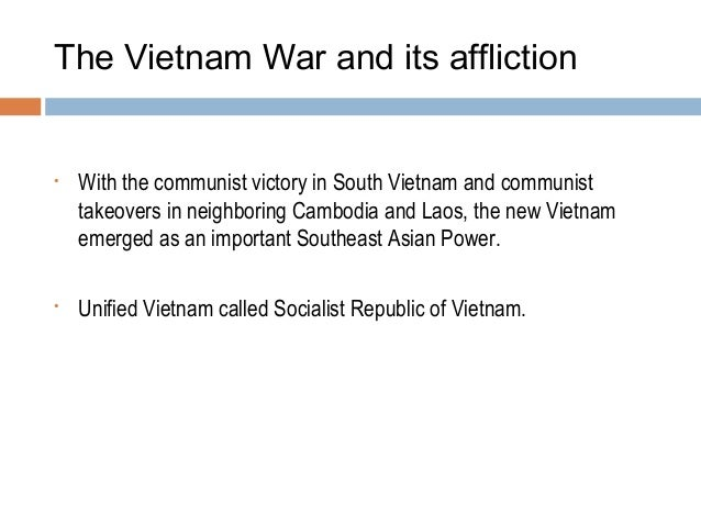 the significance of the victory of the communist forces in vietnam in 1975 to its economic performan By the early 1960s, the communist-led national liberation front (nlf) and its military arm, the viet cong, had launched a full-scale guerrilla revolution against ngo dinh diem and the american-supported republic of vietnam in the south.