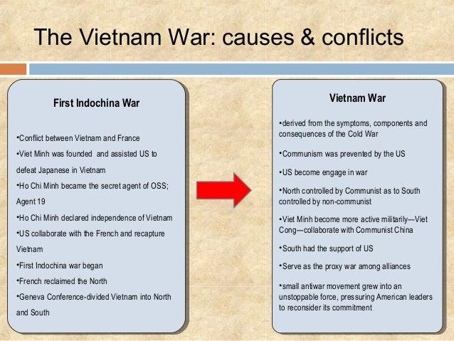 Social effects on the Vietnam war