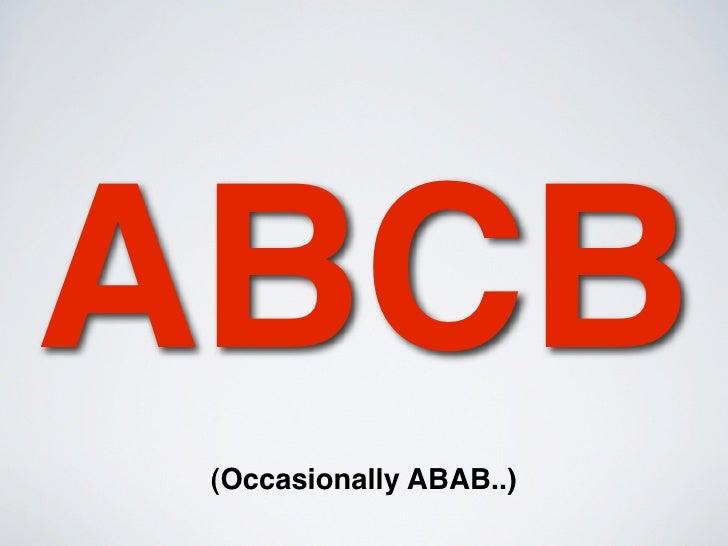 abcb abab