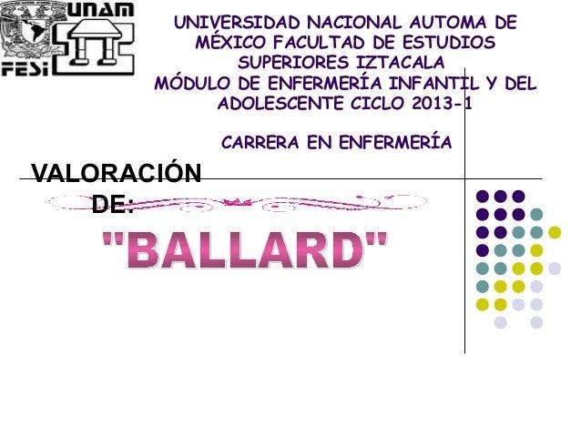 UNIVERSIDAD NACIONAL AUTOMA DE MÉXICO FACULTAD DE ESTUDIOS SUPERIORES IZTACALA MÓDULO DE ENFERMERÍA INFANTIL Y DEL ADOLESC...